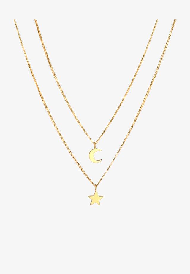 STERN MOND ASTRO  - Halsband - gold