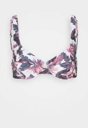 SOLIDS BALCONETTE - Bikini top - multi-coloured