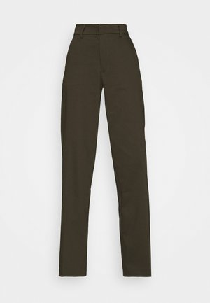 ALICE WIDE PANT  - Trousers - army