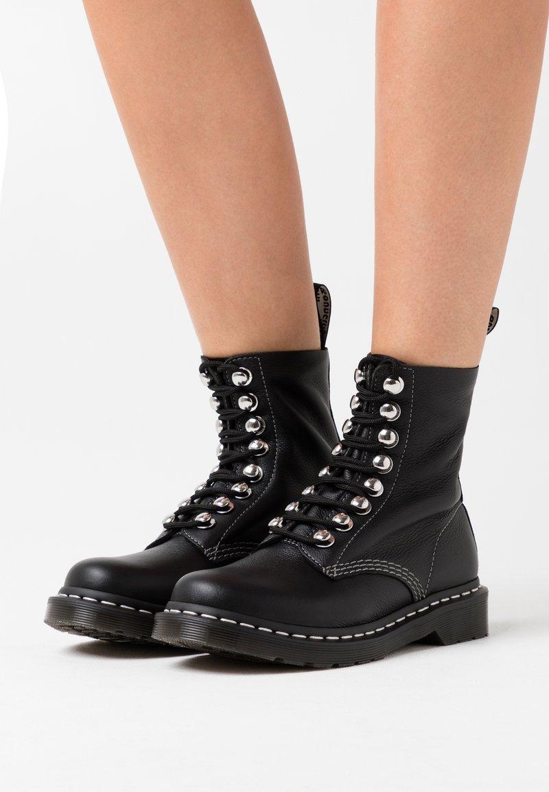 Dr. Martens - 1460 PASCAL - Platform ankle boots - black