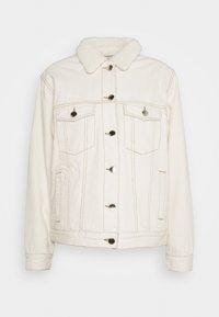 ONLY - ONLCAROLINE LIFE - Denim jacket - ecru - 0