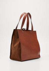 CLOSED - HOPE LONG TOTE SET - Tote bag - antique wood - 3
