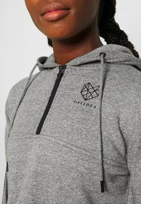 Pink Soda - BILLOW ZIP - Hoodie - mid grey grindle - 5