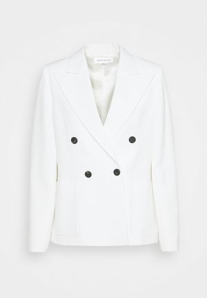 DOUBLE BREASTED - Blazer - white