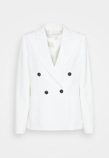 DOUBLE BREASTED - Sportovní sako - white