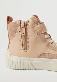 Mango Kids - BASKETS - Sneakers hoog - rose clair - 4