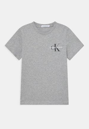CHEST MONOGRAM UNISEX - Triko spotiskem - light grey heather