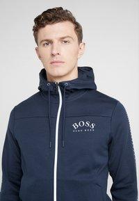 BOSS - SAGGY WIN - Zip-up hoodie - blue/silver - 3