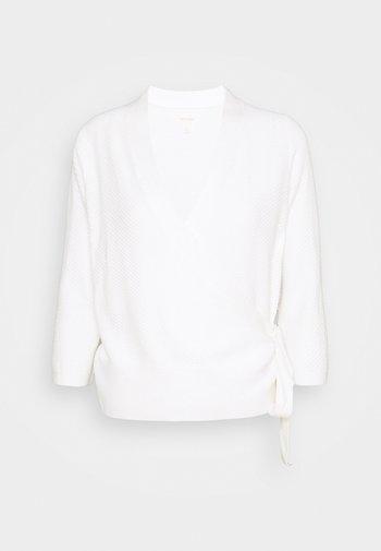 WRAP  - Cardigan - off-white