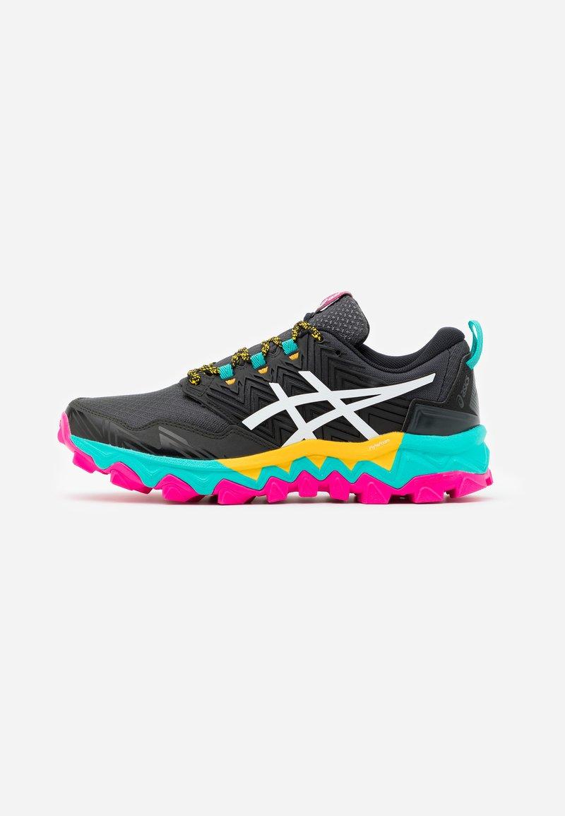 ASICS - GEL-FUJITRABUCO 8 - Trail running shoes - black/white