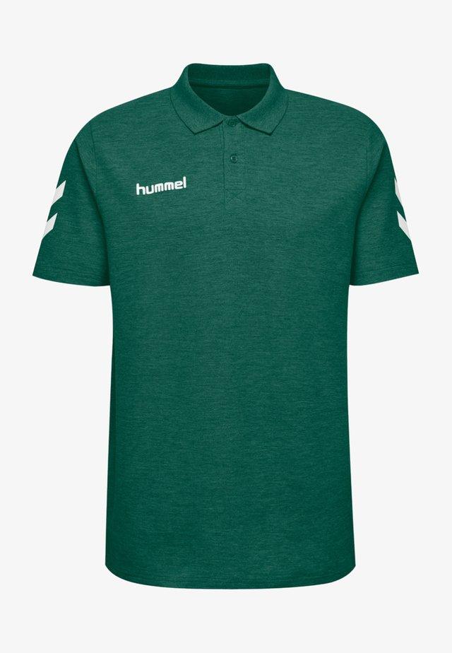 HMLGO - Polo shirt - evergreen