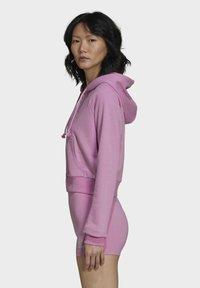 adidas Originals - Zip-up sweatshirt - pink - 3