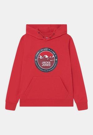 JCOBILO HOOD JR - T-shirt à manches longues - ribbon red
