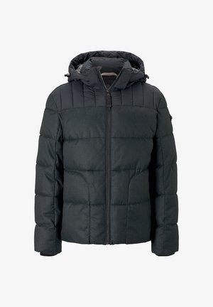 MIT KAPUZE - Winter jacket - black minimal design