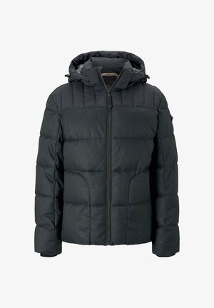 MIT KAPUZE - Veste d'hiver - black minimal design