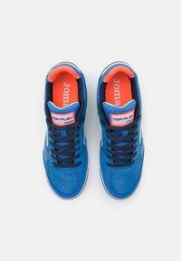 Joma - TOP FLEX - Indoor football boots - royal/turquoise - 3