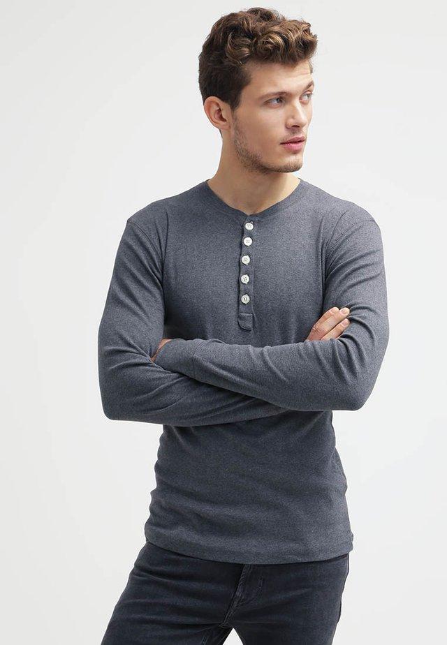 Topper langermet - dark grey
