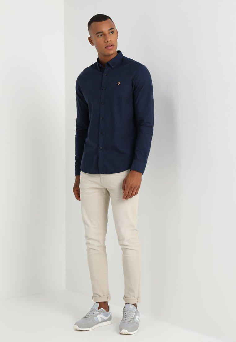 Farah Steen - Skjorte True Blue/mørkeblå