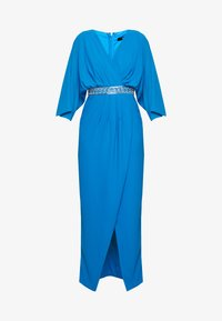 TFNC - LENNIS MAXI WRAP DRESS - Abito da sera - blue - 4