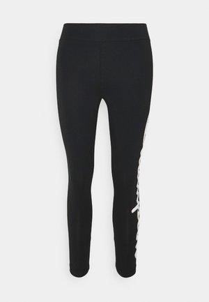 CROP  - Leggings - black