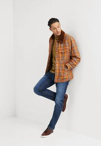 Jack & Jones - JJIMIKE JJORIGINAL - Vaqueros rectos - blue denim - 1