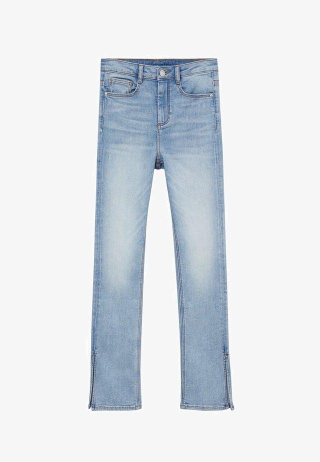 SLIT - Straight leg jeans - bleu moyen