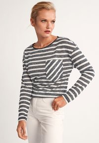 comma casual identity - Long sleeved top - black stripes - 3