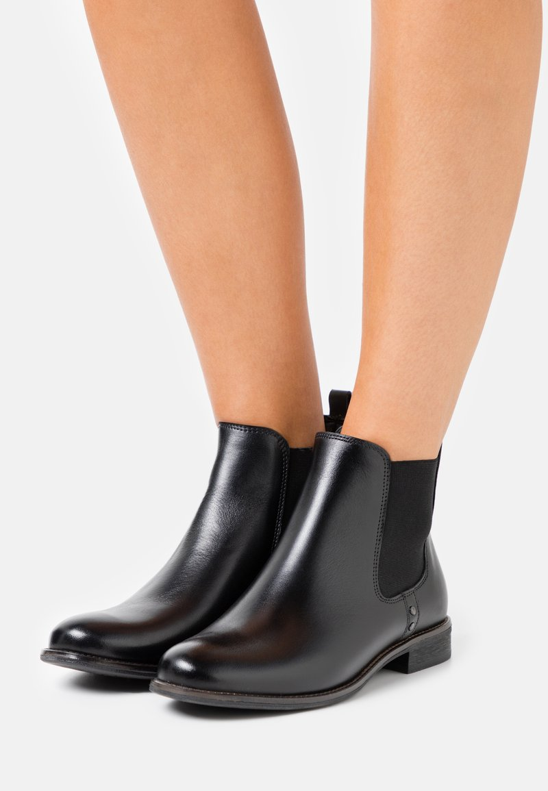 Anna Field - LEATHER - Classic ankle boots - black