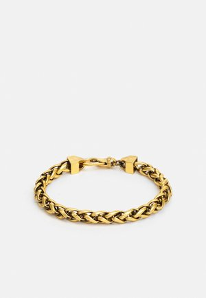 NARROW WHEAT WIRE CHAIN UNISEX - Armbånd - antique gold-coloured