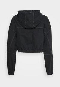 BDG Urban Outfitters - JARED HOODED JACKET - Denim jacket - black - 7