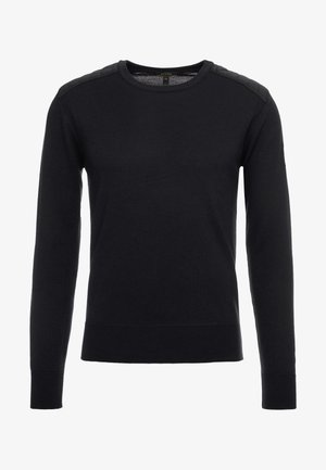 KERRIGAN CREW NECK - Svetr - black
