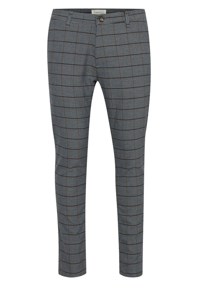 OMAAR FREDERIC - Trousers - med grey m