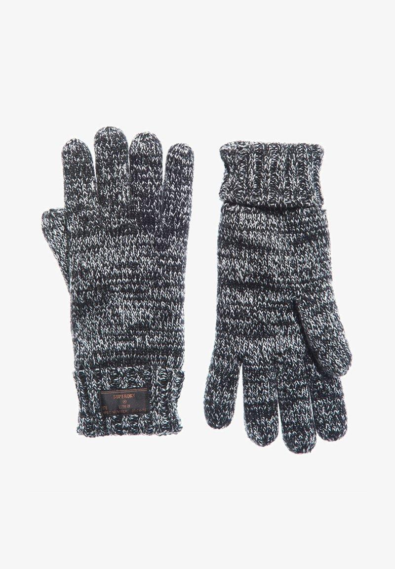 Superdry - STOCKHOLM GLOVE - Gloves - black twist