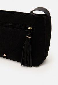 Anna Field - LEATHER - Across body bag - black - 3