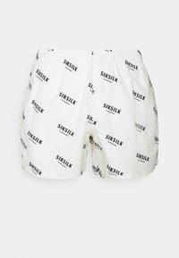 SIKSILK - REPEAT PRINT SWIM - Shorts - off white - 3