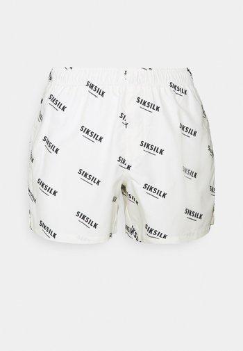REPEAT PRINT SWIM - Shorts - off white
