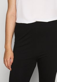 Even&Odd Curvy - 2 pack HIGH WAIST legging - Leggings - Trousers - black - 4