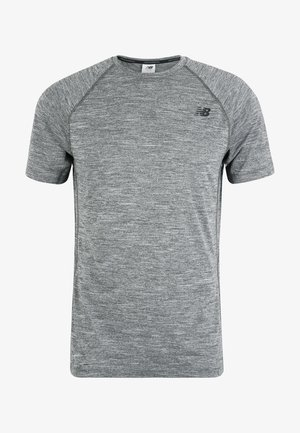 TENACITY - Basic T-shirt - heather charcoal