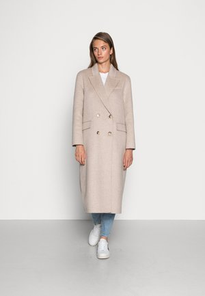 SLFTAMA HANDMADE COAT - Klasický kabát - sandshell