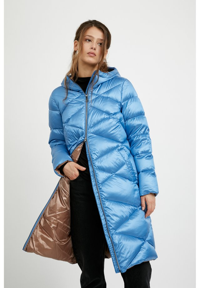 Down coat - light blue