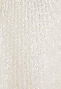 JDY - JDYSEA SEQUINS SINGLET - Topper - marshmallow - 2