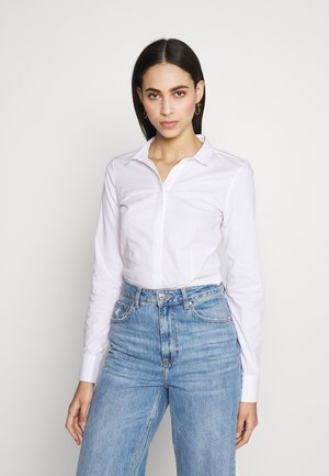 ONLSELMA BODY - Button-down blouse - white