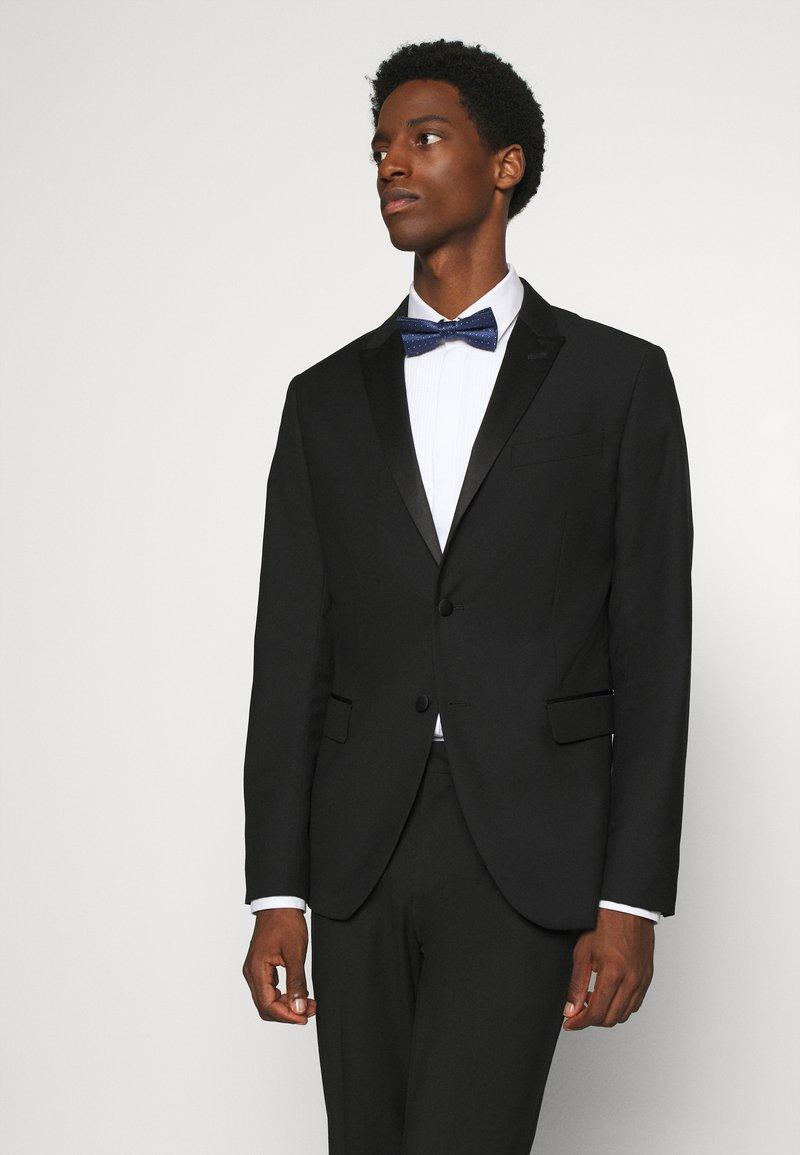 Calvin Klein - PEBBLE DOT BOWTIE - Bow tie - navy