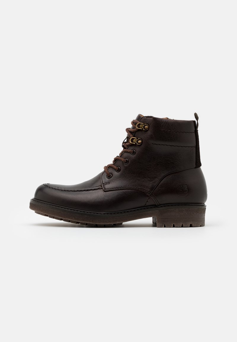 Timberland - OAKROCK WP ZIP BOOT - Lace-up ankle boots - dark brown