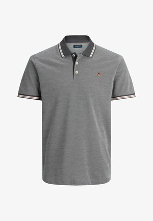 Polo shirt - metallic grey
