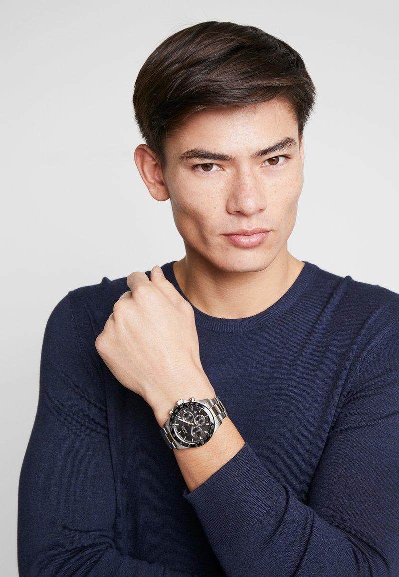 BOSS - Zegarek chronograficzny - silver-coloured