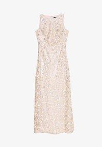 Lauren Ralph Lauren - ASTOR LONG GOWN - Vestido de fiesta - belle rose/silver - 7