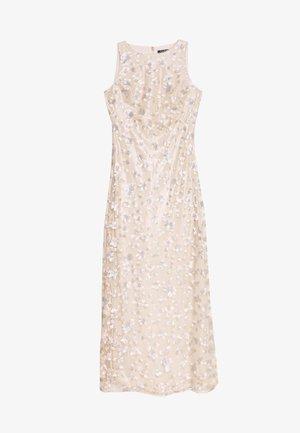 ASTOR LONG GOWN - Společenské šaty - belle rose/silver