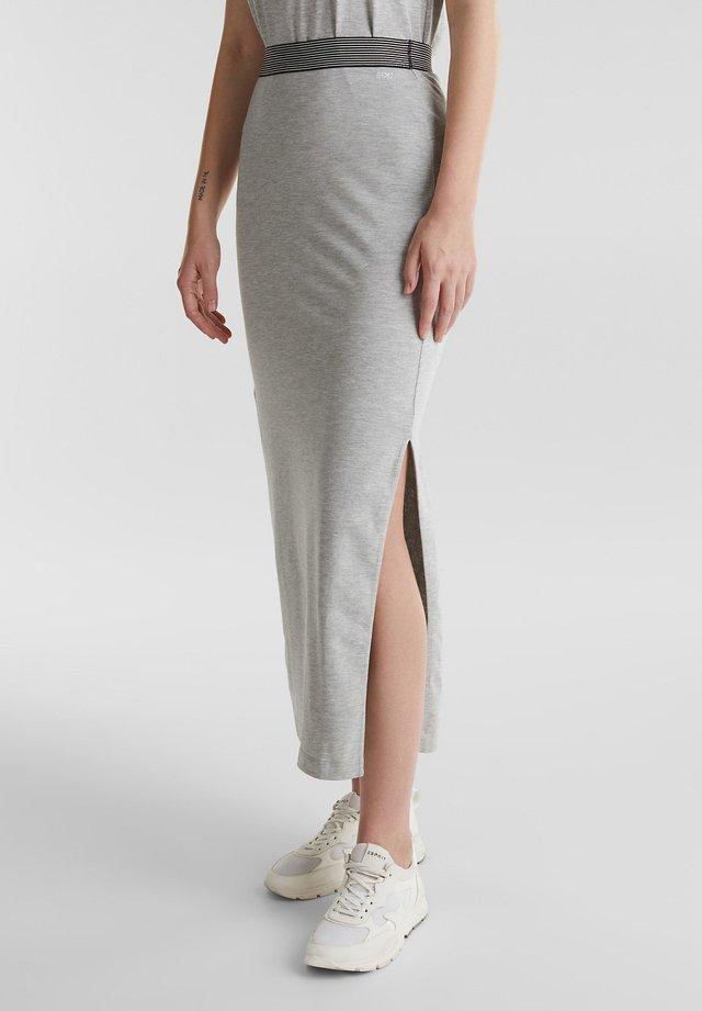 TUBE SKIRT - Falda de tubo - light grey