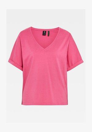JOOSA V- NECK - Basic T-shirt - rebel pink